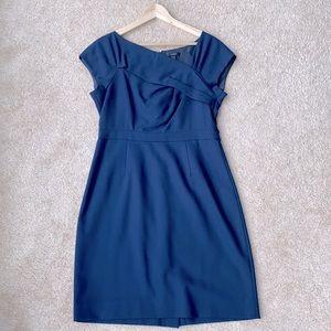 J.Crew classic navy blue dress (size 10)